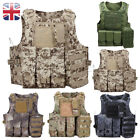 Tactical vest /Airsoft plate carrier/ Army molle vest /Webbing chest rig UK FAST