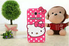 2017 3d Hello Kitty Bow Soft Silicone Phone Case Cover For Iphone Se 5 6 7 Plus