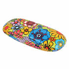 Protable Eyeglasses Hard Eye Glasses Case Eyewear Protector Box Flower Print New