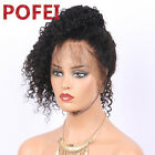 Water Wave Pre-plucked 360 Lace Frontal Wig Brazilian Human Hair 180%density
