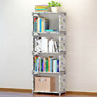 Внешний вид - Home Books Storage Rack Child Multilayer Bookcase Combination Cabinets Display