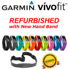 Garmin VivoFit Fitness Band Activity Tracker + HRM Multi Color IOS Android