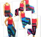 Aladin Pump Hose Harem Pants Jumpsuit Boho Yoga - One Size