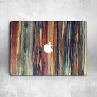 Fire Wood Colorful Design Hard Cover Case Macbook Pro Retina Air 11 12 13 15