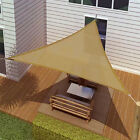 SUN SAIL SHADE - TRIANGLE CANOPY COVER-OUTDOOR PATIO AWNING-18' SIDES (18x18x18)