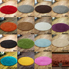 Circle Rugs Thick Soft Pile Shaggy Modern Large Small Best Round Rug Cheap Cost