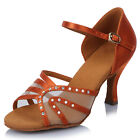 New Women's Girl 's Ladies Ballroom Latin Tango Party Dance Shoes high quality
