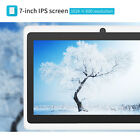 """7"""" HD Unlocked Tablet PC 8GB Wi-Fi Quad Core Google Android 4.4 Tablet US STOCK"""