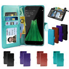 Oppo F1s Case, Slim Wallet Flip Credit Card Leather Pouch Pocket Cover OZ