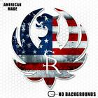 American Flag Ruger Sticker Military Gun USA Decal for Truck Window iphone drone