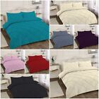 Alexander Duvet Cover Sets Double Single Super King Bedding Pintuck Poly cotton