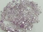 Natural Loose Pink Color Round Shape Diamonds 1.50 to 2.00 MM Size Lot