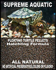 "GOURMET AQUATIC TURTLE HATCHLING DIET,""ALL NATURAL"" Zoo Med,Baby Turtle Food"