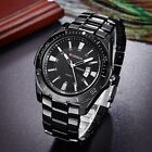 CURREN Luxury Men's Quartz Stainless Steel Date Display Waterproof Wrist Watch image