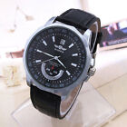 WINNER New Fashion Mens Automatic Mechanical Leather Band Waterproof Wrist Watch