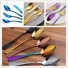 Iridescent Stainless Steel cutlery set Unique amazing colour Hot sale