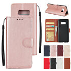 Leather Wallet Card Holder Flip Case Cover For Samsung Galax