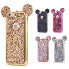 For Samsung Galaxy S8+/S6/S7edge Cute Bling Glitter Mickey Mouse Soft Case Cover