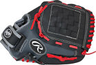"""Rawlings Youth Players Series Glove 11""""  Black-Grey-Red"""