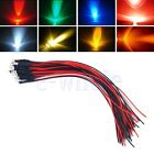 5/10/20PCS 3mm 3v LED Diode Light with 20cm Cable Pre Wired Water Clear LEDS WS