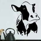 Sticker Décoration Murale ou Voiture Animal Vache (10x8 cm à 35x29 cm)