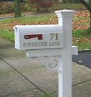 Mailbox Letters/Numbers - choose 1 side or 2 sides - choose color.