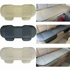 pu seat cover - Universal &Bamboo Car Seat Cover PU Leather Breathable Pad Mat Auto Cushion