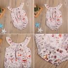 Newborn Toddler Kids Infant Baby Girl Floral Romper Bodysuit Clothes Outfits hot