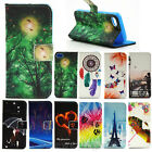 Wallet Flip PU Leather Protective Stand Case Cover Card For Samsung Galaxy Phone