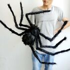 Giant Black Spider Haunted House Prop Indoor Outdoor Halloween Party Decoration