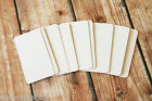 50pc ELLIE Poo Cream handmade business cards rubber stamp letterpress craft card