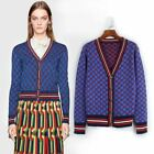 Autumn Occident sexy deep v neck plaid pattern cashmere sweater cardigan jumpers