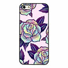 Trippy Roses cool plastic phone case fits iPhone