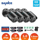 SANNCE 1500TVL CCTV Camera 720P TVI IR In/ Outdoor security system for 720P DVR