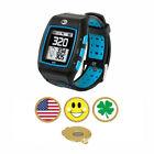 GolfBuddy WT5 Golf GPS/Rangefinder Smart Watch + Magnetic Hat Clip Ball Marker