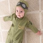 Baby Boy Halloween Pilot Military Air Force Aviator Costume Outfit Clothes Prop