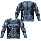 CATWOMAN UNIFORM COSTUME Adult Men's Long Sleeve Graphic Tee Shirt SM-3XL