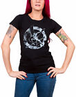The Hunger Games T Shirt Down With The Capitol Official Womens Skinny Fit Black