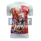 Retro Arcade Batman & Robin Joker Men's Women's Standard Fitted T-shirt