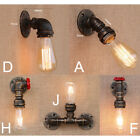 Vintage Industrial Loft Rustic Wall Sconce Wall Light Fixture Fitting 7919