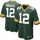 Mens Green Bay Packers Aaron Rodgers Green Game Jersey