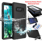 For Samsung Galaxy Note 8 Slim Waterproof Shockproof Dirt Proof Full Case Cover