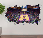 Sacramento Kings Stadium Wall Decal 3D Sticker Smashed Decor Vinyl NBA OP204 on eBay