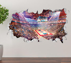 Detroit Pistons Stadium Wall Decal 3D Sticker Smashed Decor Vinyl NBA OP205 on eBay