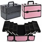 Extra Large Space Beauty Aluminium Make Up Nail Art Cosmetics Box Vanity Case