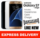 LIKE NEW Samsung Galaxy S7 Edge 32GB 4G Factory Unlocked 100% GENUINE