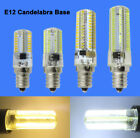 E12 Candelabra C7 64/80/104/152 3014 SMD LED Night Light Bulb Lamp AC 110/220V