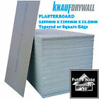 Free Uk Delivery Standard Plasterboard 2400mm x 1200mm x 12.5mm Sheets