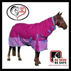 LOVE MY HORSE 600D 180g 5'9 - 6'6 Winter Combo Waterproof Horse Rug Rasb / Pink
