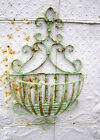 """Wrought Iron Small 28"""" Susanne Wall Basket - Flower Plant..."""
